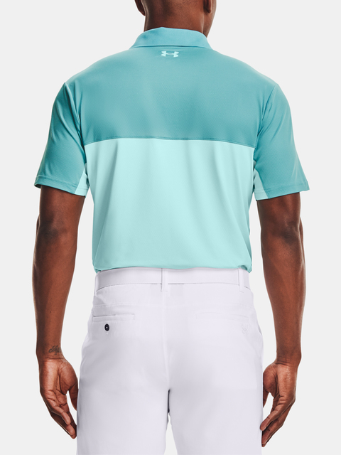 Tričko Under Armour Perf Polo 2.0 Colorblock-BLU