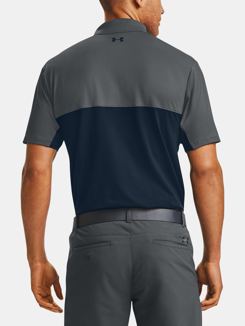 Tričko Under Armour Perf Polo 2.0 Colorblock-GRY