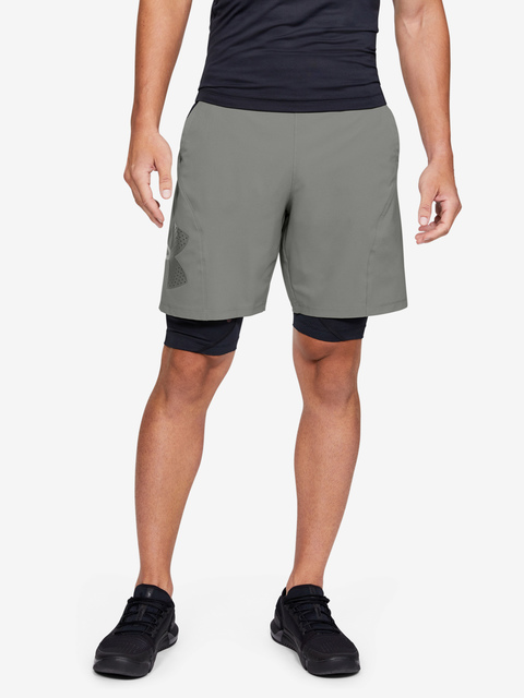 Kraťasy Under Armour Vanish Woven Graphic Shorts-GRN