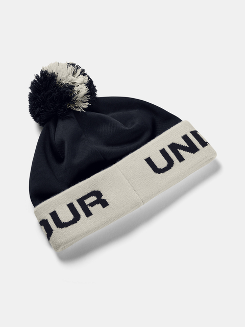 Čapica Under Armour Boy's Gametime Pom Beanie-BLK