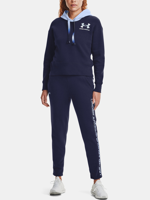 Nohavice Under Armour Rival Fleece Grdient Pant-NVY