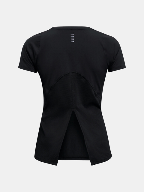 Tričko Under Armour IsoChill Run 200 SS-BLK