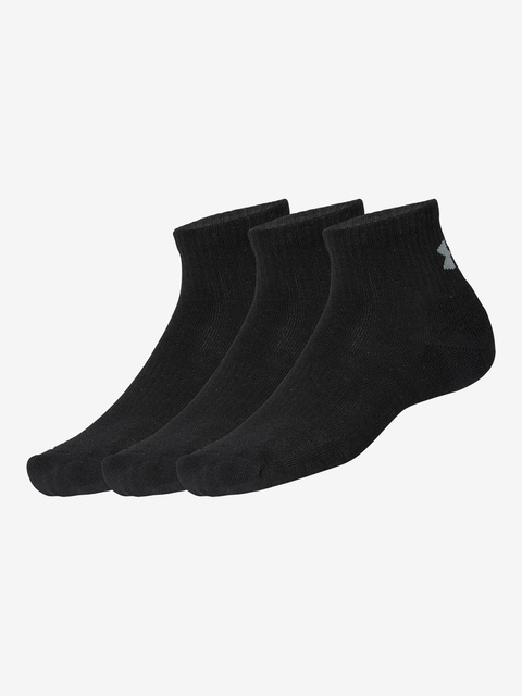 Ponožky Under Armour Training Cotton QTR-BLK,LG