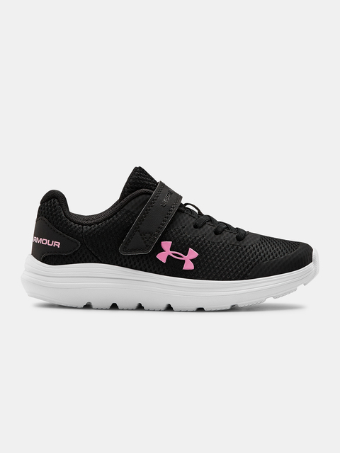 Topánky Under Armour  PS Surge 2 AC-BLK