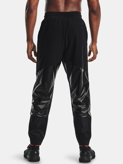 Tepláky Under Armour Recover Legacy Pant-BLK