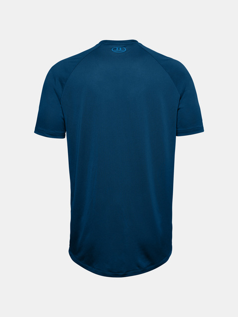 Tričko Under Armour UA BIG LOGO TECH SS-BLU