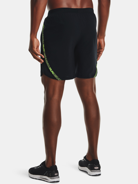 Kraťasy Under Armour UA Launch SW 7'' Tape Short-BLK