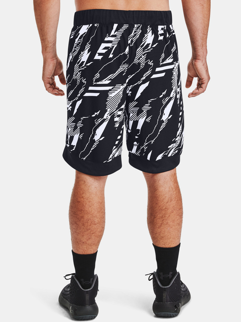 Kraťasy Under Armour PRINTED RETRO SHORT-BLK
