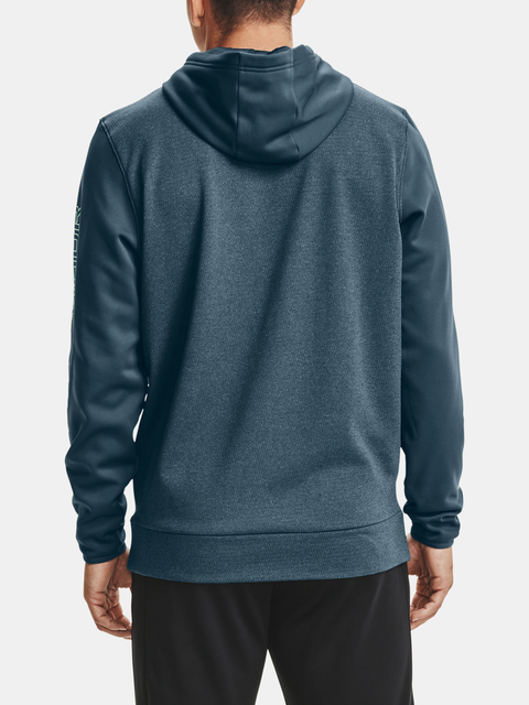 Mikina Under Armour AF Textured Hoodie-BLU