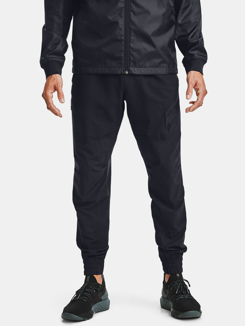 Nohavice Under Armour PJT ROCK UNSTOPPABLE PANT-BLK