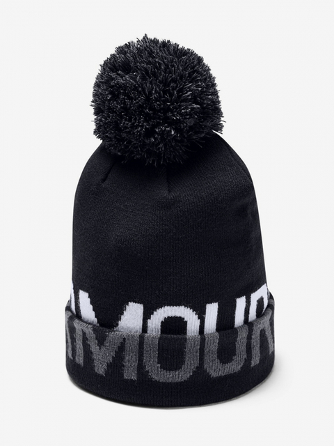 Čiapka Under Armour Graphic Pom Beanie-BLK