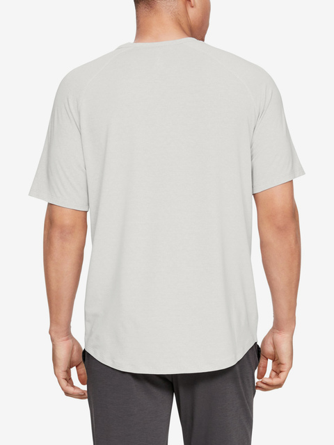 Tričko Under Armour Recovery Sleepwear Ss Crew-Wht
