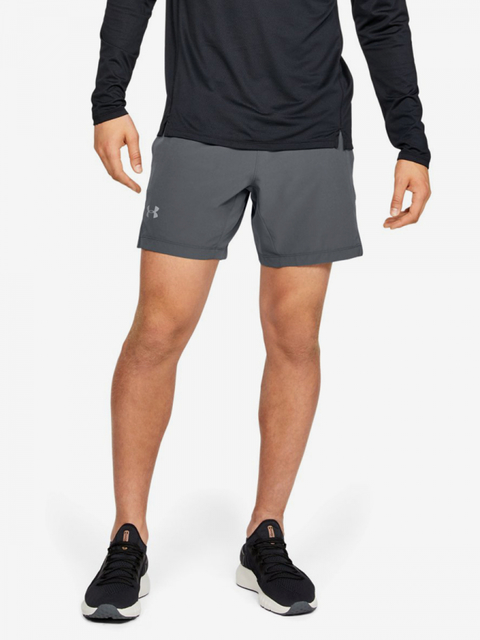 Kraťasy Under Armour Speedpocket Linerless 7\'\' Short-Gry