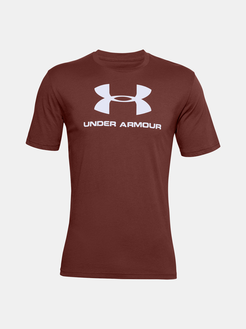 Tričko Under Armour UA SPORTSTYLE LOGO SS-RED