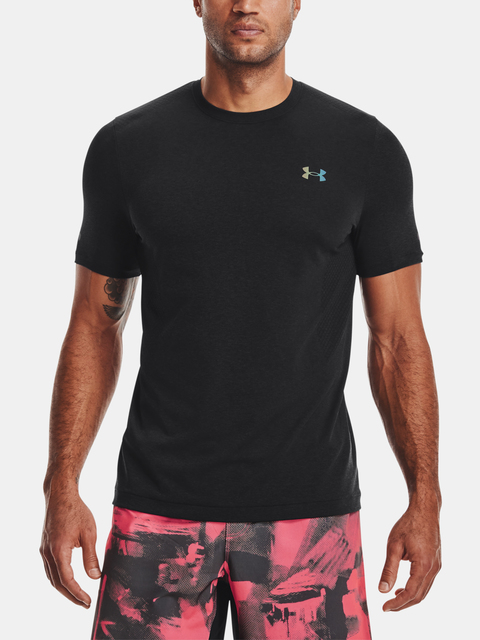 Tričko Under Armour  Rush Seamless SS-BLK