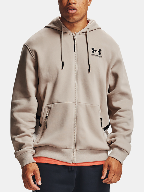 Mikina Under Armour  Rival Fleece AMP FZ HD