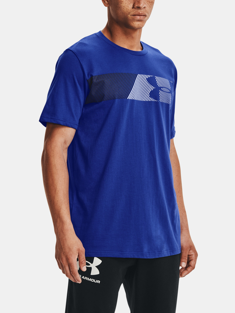 Tričko Under Armour FAST LEFT CHEST 2.0 SS-BLU