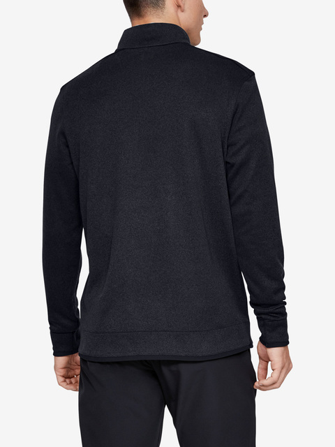Mikina Under Armour Sweaterfleece 1/2 Zip-Blk