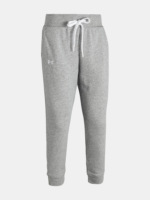 Legíny Under Armour UA Rival Terry Pant-GRY