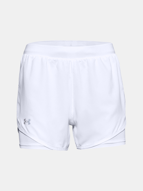 Kraťasy Under Armour Fly By 2.0 2N1 Short-WHT