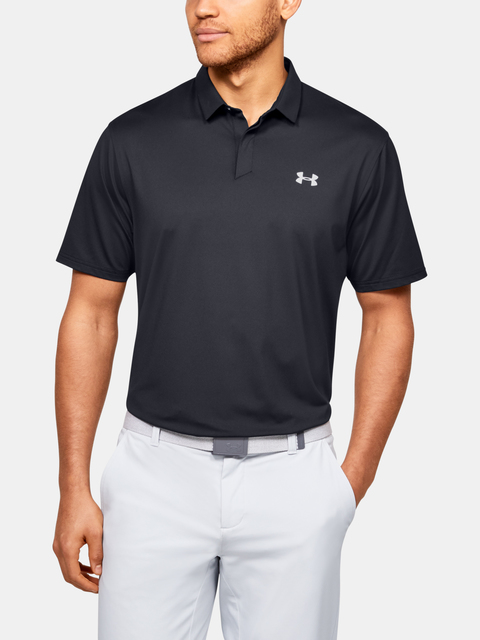 Polo tričko Under Armour  Iso-Chill Printed Polo-BLK