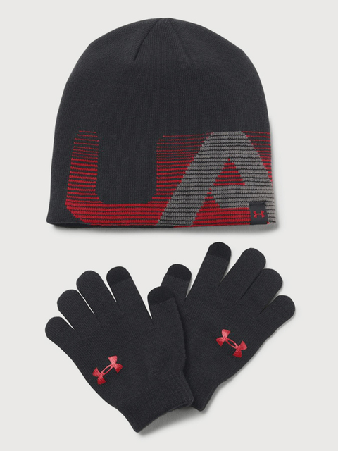 Čiapka a rukavice Under Armour Boy\'s Beanie/Glove Combo