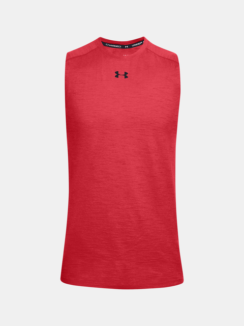 Tielko Under Armour UA Charged Cotton Tank-RED