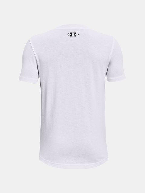 Tričko Under Armour Boys Hoops Nitro Tee-WHT