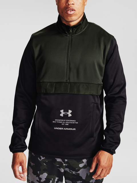 Mikina Under Armour UA AF Storm 1/2 Zip-GRN