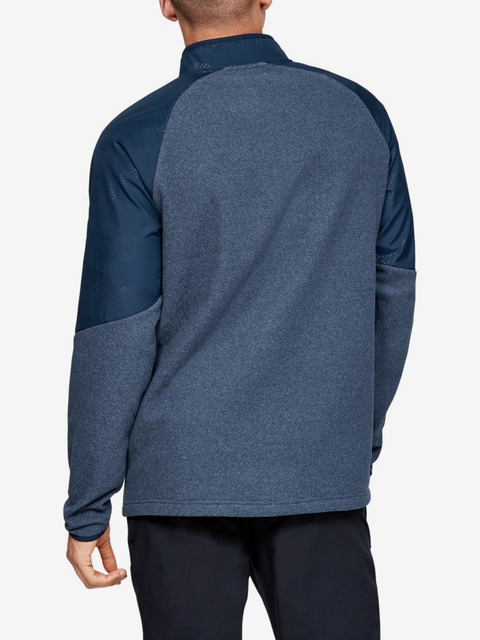 Tričko Under Armour Cgi 1/2 Zip-Nvy