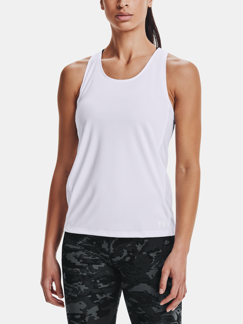 Tielko Under Armour UA Fly By Tank-WHT