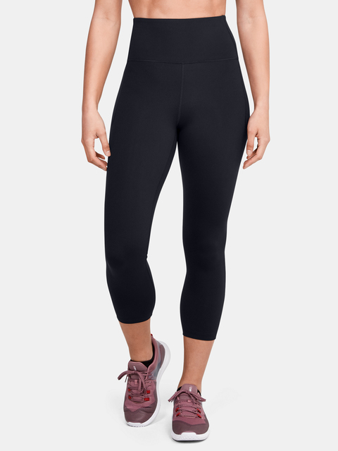 Legíny Under Armour UA Meridian Crop-BLK