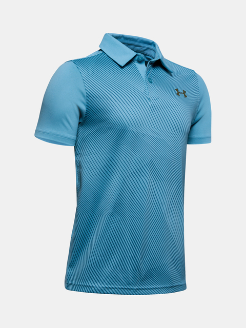 Tričko Under Armour Tour Tips Bunker Polo-BLU