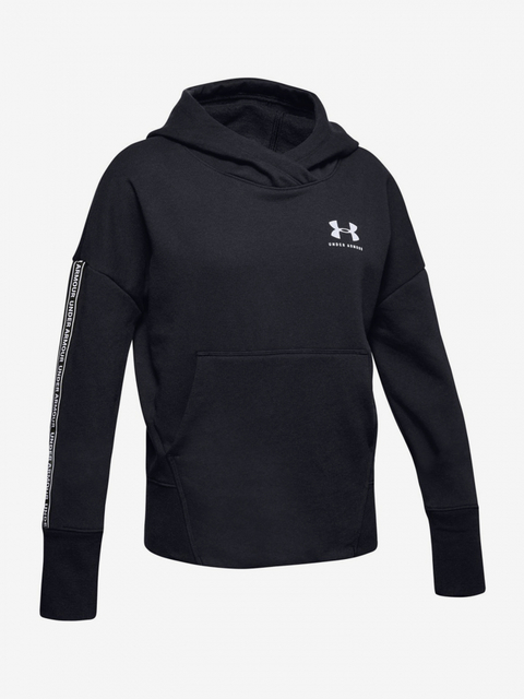 Mikina Under Armour SportStyle Fleece Hoody-BLK