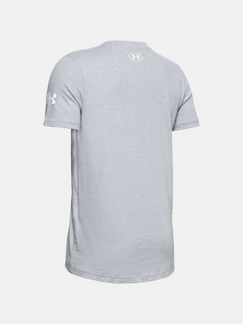 Tričko Under Armour UA MR. BUCKETS TEE-GRY
