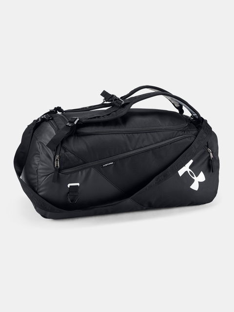 Taška Under Armour UA Contain Duo MD Duffle BP-BLK