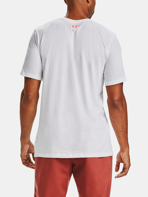 Tričko Under Armour FAST LEFT CHEST 2.0 SS-WHT