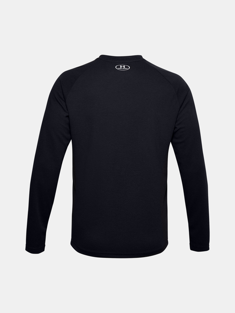 Tričko Under Armour UA CGI Henley-BLK