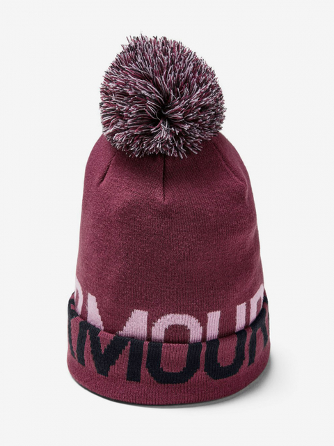 Čiapka Under Armour Graphic Pom Beanie-Ppl