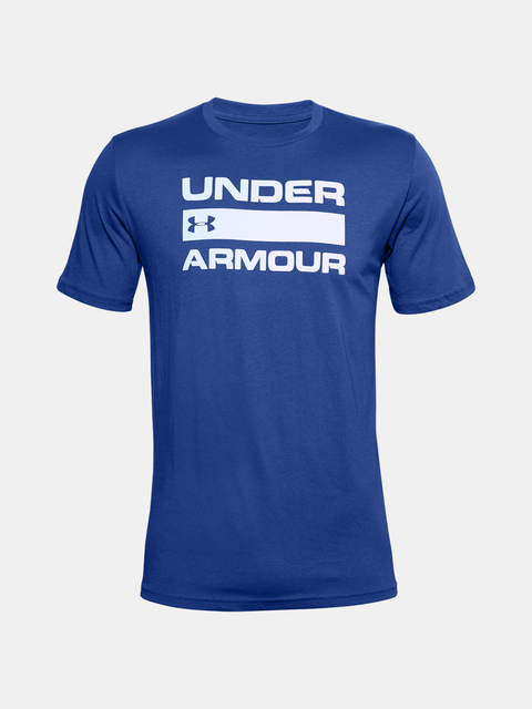 Tričko Under Armour UA TEAM ISSUE WORDMARK SS-BLU