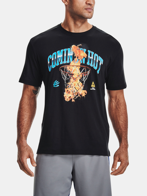 Tričko Under Armour CURRY COMING IN HOT TEE-BLK