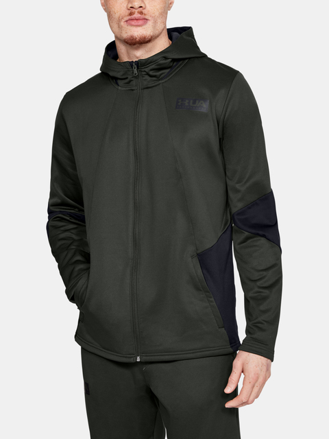Mikina Under Armour Gametime Fleece Fz-Grn