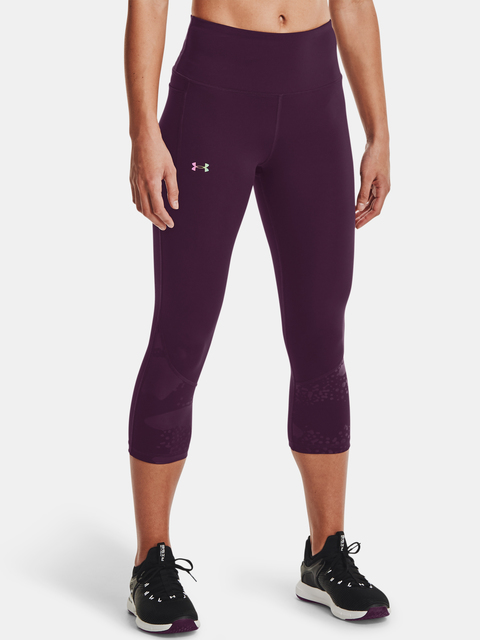 Legíny Under Armour Rush Tonal Capri PKT NS-PPL