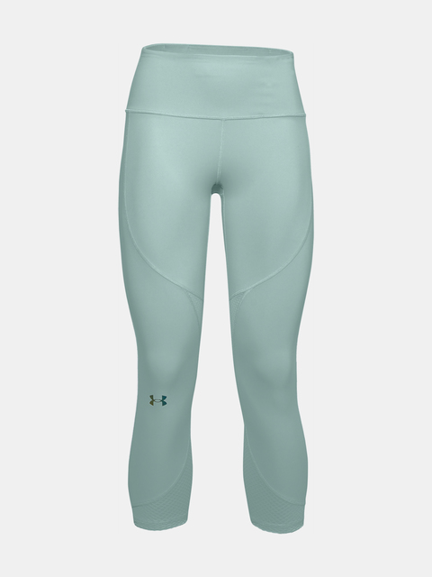 Legíny Under Armour UA Rush Side Piping Crop-BLU