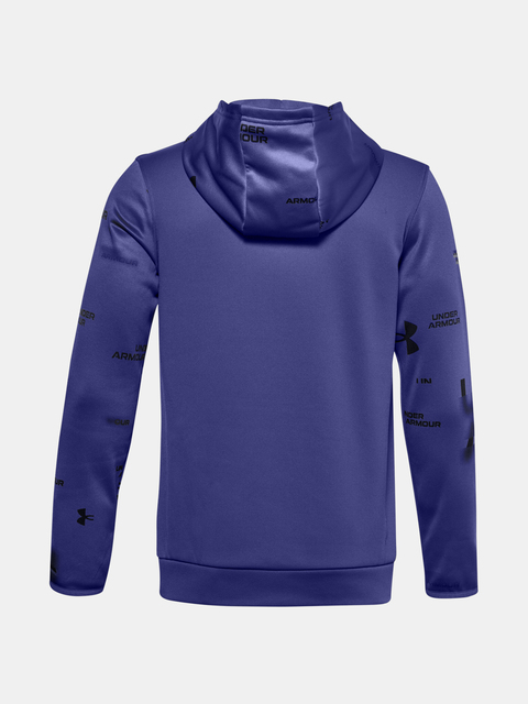 Mikina Under Armour ARMOUR FLEECE SI TD HOOD-BLU