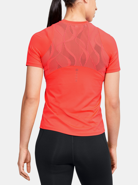 Tričko Under Armour Rush Vent SS-RED