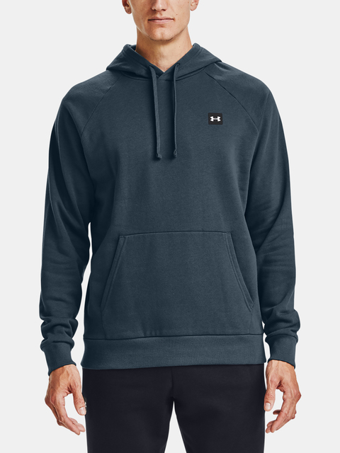 Mikina Under Armour Rival Fleece Hoodie-BLU