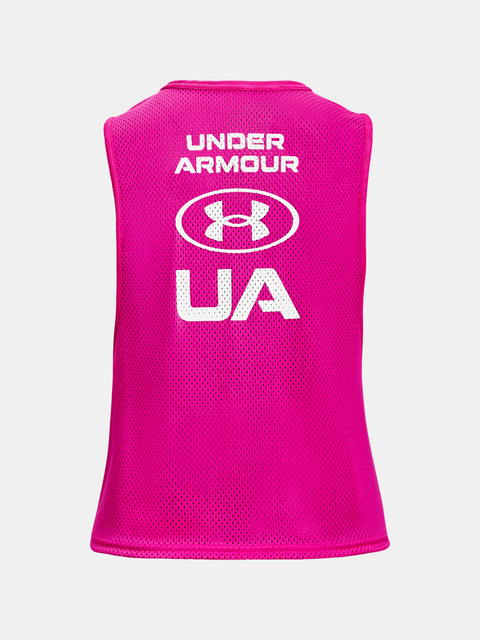 Tielko Under Armour UA HG Armour Muscle Msh Tank-PNK