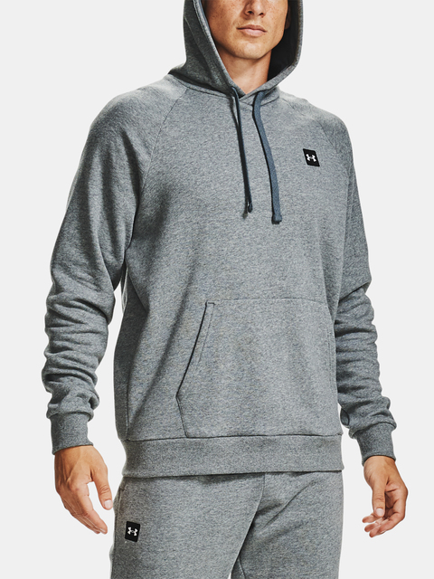 Mikina Under Armour UA Rival Fleece Hoodie-GRY