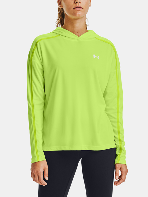 Mikina Under Armour Tech Twist Graphic Hoodie-GRN